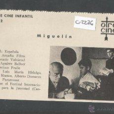 Cine: MIGUELIN - CINE INFANTIL - OTRO CINE - (C-2276). Lote 52161460