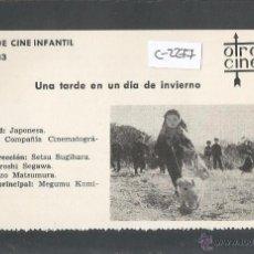 Cine: UNA TARDE EN UN DIA DE INVIERNO - CINE INFANTIL - OTRO CINE - (C-2277). Lote 52161479