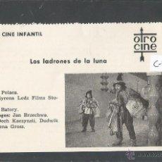 Cine: LOS LADRONES DELA LUNA - CINE INFANTIL - OTRO CINE - (C-2279). Lote 52161519