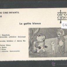 Cine: LA GATITA BLANCA - CINE INFANTIL - OTRO CINE - (C-2284). Lote 52161596
