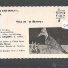 Cine: VIDA EN LAS LLANURAS - CINE INFANTIL - OTRO CINE - (C-2288). Lote 52161655