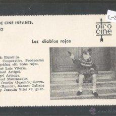 Cine: LOS DIABLOS ROJOS - CINE INFANTIL - OTRO CINE - (C-2291). Lote 52161693