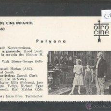 Cine: POLYANA - CINE INFANTIL - OTRO CINE - (C-2299). Lote 52161822