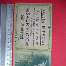 Cine: SACRIFICIO POR AMISTAD- 1944. Lote 52302654