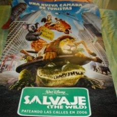 Cine: PRECIOSO CARTEL ORIGINAL DE - SALVAJE - MIDE 95 X 70 VER FOTO QUE NO TE FALTE EN TU COLECCION. Lote 52359979