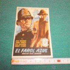 Cine: PROGRAMA DE CINE EL FAROL AZUL TEATRO PRADERA. Lote 52368187