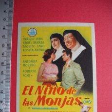 Cine: - EL NIÑO DE LAS MONJAS - 1959. Lote 144307504