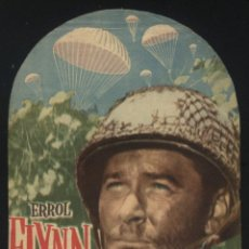 Cine: P-5750- OBJETIVO: BIRMANIA (OBJECTIVE BURMA) (TROQUELADO) (ERROL FLYNN - JAMES BROWN). Lote 52519636