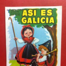 Cine: ASI ES GALICIA-FALBUN. Lote 106044104