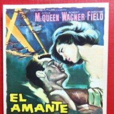 Cine: EL AMANTE DE LA MUERTE - STEVE MCQUEEN - 1962 - SIN PUBLICIDAD.FALBUN. Lote 170518302