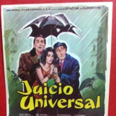 Cine: JUICIO UNIVERSAL - VITTORIO DE SICA, SILVANA MANCANO-FALBUN. Lote 167782388