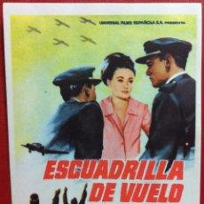 Cine: ESCUADRILLA DE VUELO 1962 (FOLLETO DE MANO ORIGINAL)FALBUN. Lote 170518541