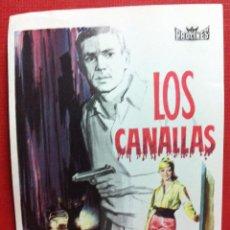 Cine: LOS CANALLAS - MARINA VLADY, ROBERT HOSSEIN-FALBUN. Lote 84529543