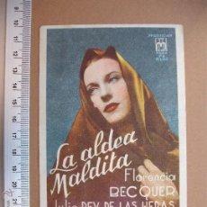 Cine: LA ALDEA MALDITA - 1944. Lote 52623770