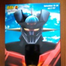 Cine: MAZINGER Z IMPACTO DVD BOX VOL 2 3 DVDS GO NAGAI DYNAMIC VERSION EXTENDIDA. Lote 52665842
