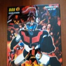 Cine: MAZINGER Z IMPACTO DVD BOX VOL 1 3 DVDS GO NAGAI DYNAMIC VERSION EXTENDIDA. Lote 52665880
