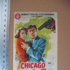Cine: CHICAGO AÑO 30 - 1960. Lote 52694583