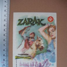 Cine: ZARAK - 1958. Lote 52695403