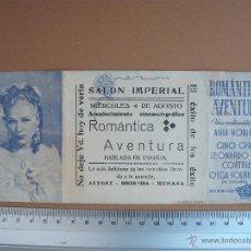 Cine: ROMANTICA AVENTURA - 1943. Lote 52705454