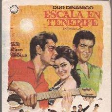 Cine: ESCALA EN TENERIFE / DUO DINAMICO . Lote 52730818