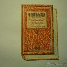 Cine: PROGRAMA TROQUELADO EL LIBRO DE LA SELVA -SABU PUBLICIDAD CINE LA ESPERANZA- ARENYS DE MAR. Lote 52739787