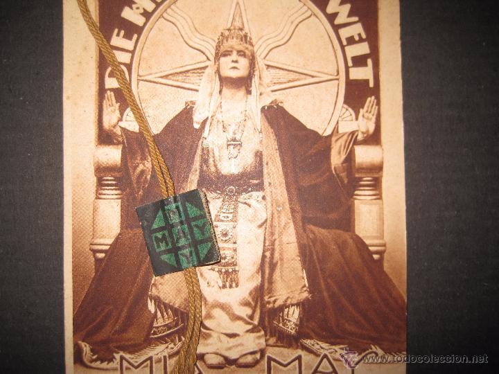 Cine: LA DUEÑA DEL MUNDO - DIE HERRIN DER WELT - CALENDARIO 1920 -VER FOTOS- 10X 24 CM- 4 HOJAS - (C-2341) - Foto 7 - 52842521