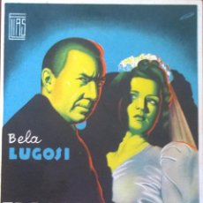 Cine: EL LADRÓN DE CADAVERES- BELA LUGOSI- SIN PUBLICIDAD. IMPECABLE. Lote 52843484