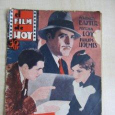 Cine: FOLLETO DE ASESINATO EN LA TERRAZA DE 1933 32 PÁGINAS. Lote 52889635