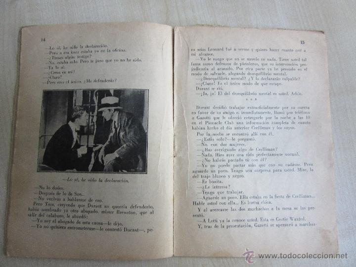 Cine: Folleto de Asesinato en la terraza de 1933 32 páginas - Foto 3 - 52889635