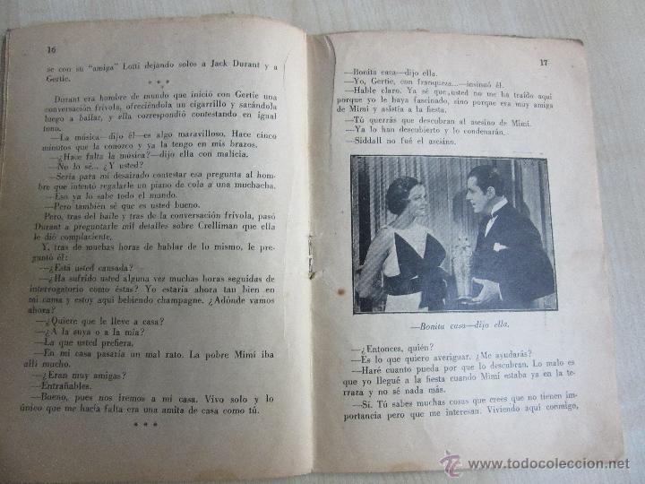 Cine: Folleto de Asesinato en la terraza de 1933 32 páginas - Foto 5 - 52889635