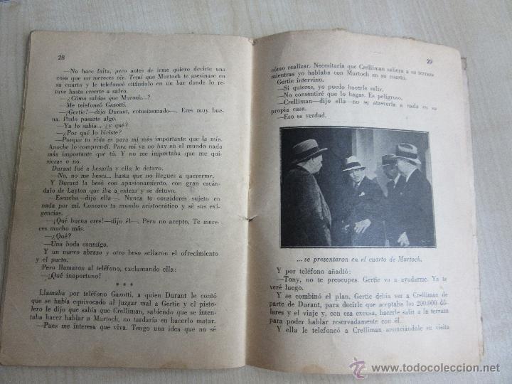 Cine: Folleto de Asesinato en la terraza de 1933 32 páginas - Foto 6 - 52889635
