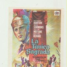 Foglietti di film di film antichi di cinema: LA TÚNICA SAGRADA. SENCILLO DE DC FILMS.. Lote 53003699