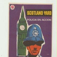 Cine: SCOTLAND YARD POLICÍA EN ACCIÓN. SENCILLO DE ROSA FILMS. ¡IMPECABLE!. Lote 53080730