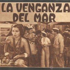 Cine: LA VENGANZA DEL MAR - DOBLE - CINE PRINCIPAL - (C-2373). Lote 53122300