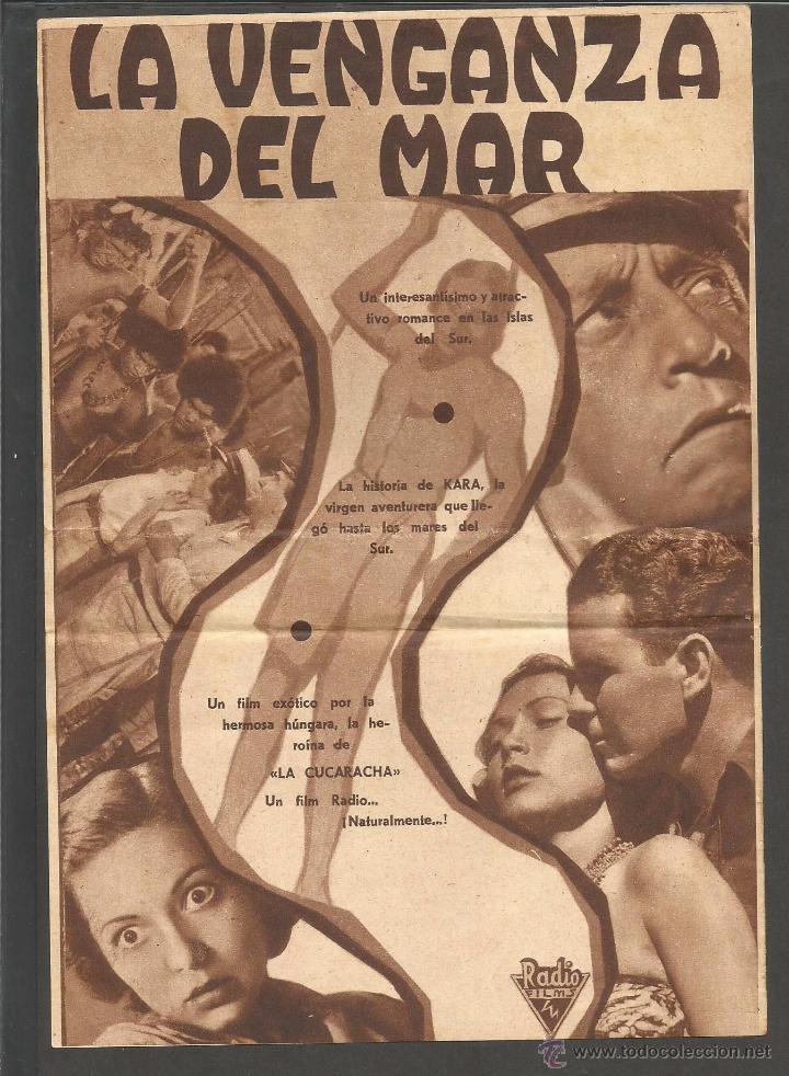 Cine: LA VENGANZA DEL MAR - DOBLE - CINE PRINCIPAL - (C-2373) - Foto 2 - 53122300
