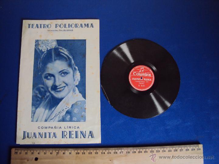 (PG-1201)PROGRAMA COMPAÑIA LIRICA JUANITA REINA (Cine - Folletos de Mano - Musicales)