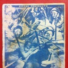 Cine: HOMBRES DEL MAÑANA , 1934 CIFESA -SALON DORE ZARAGOZA. Lote 53221814