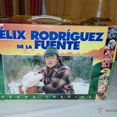 Folhetos de mão de filmes antigos de cinema: FELIX RODRIGUEZ DE LA FUENTE COLECCIÓN FAUNA IBERICA COMPLETA EN VHS MUCHAS EN SUS BLISTERS VER FOTO. Lote 53264772