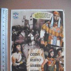 Cine: LA REINA DE SABA - 1953. Lote 53281054