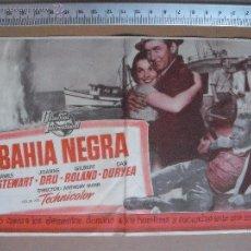 Cine: BAHIA NEGRA - 1955. Lote 53281857