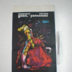 Cine: EL PIREO EN CURRITO DE LA CRUZ // PROGRAMA GRAN TAMAÑO 1965 // SOLEDAD MIRANDA FRANCISCO RABAL. Lote 53338347