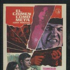 Cine: PROGRAMA EL CRIMEN COMO META-DON MEDFORD-EFREM ZIMBALIST JR.-WALTER PIDGEON. Lote 53385046