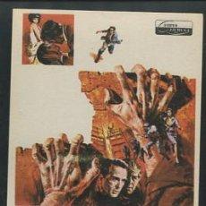 Cine: PROGRAMA DE CINE DE MANO ORIGINAL. EL DESERTOR. MONTGOMERY CLIFT-HARDY KRUGER. . Lote 53484080
