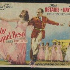 Kino - PROGRAMA DESDE AQUEL BESO, RITA HAYWORTH FRED ASTAIRE, CON PUBLICIDAD - 53484107