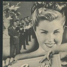Cine: PROGRAMA ESCUELA DE SIRENAS. ESTHER WILLIAMS Y RED SKELTON. CON PUBLICIDAD. Lote 53493999