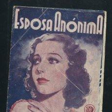 Cine: PROGRAMA ESPOSA ANONIMA, DOBLE 20TH CENTURY FOX 1938, LORETTA YOUNG ROBERT TAYLOR, CON PUBLICIDAD. Lote 53576420