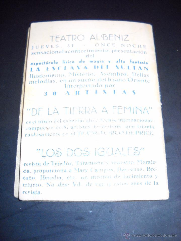 Cine: ANTIGUA Publicidad de obras de teatro,COMPAÑIA MORA-PEVALENDRO - Foto 12 - 53602572