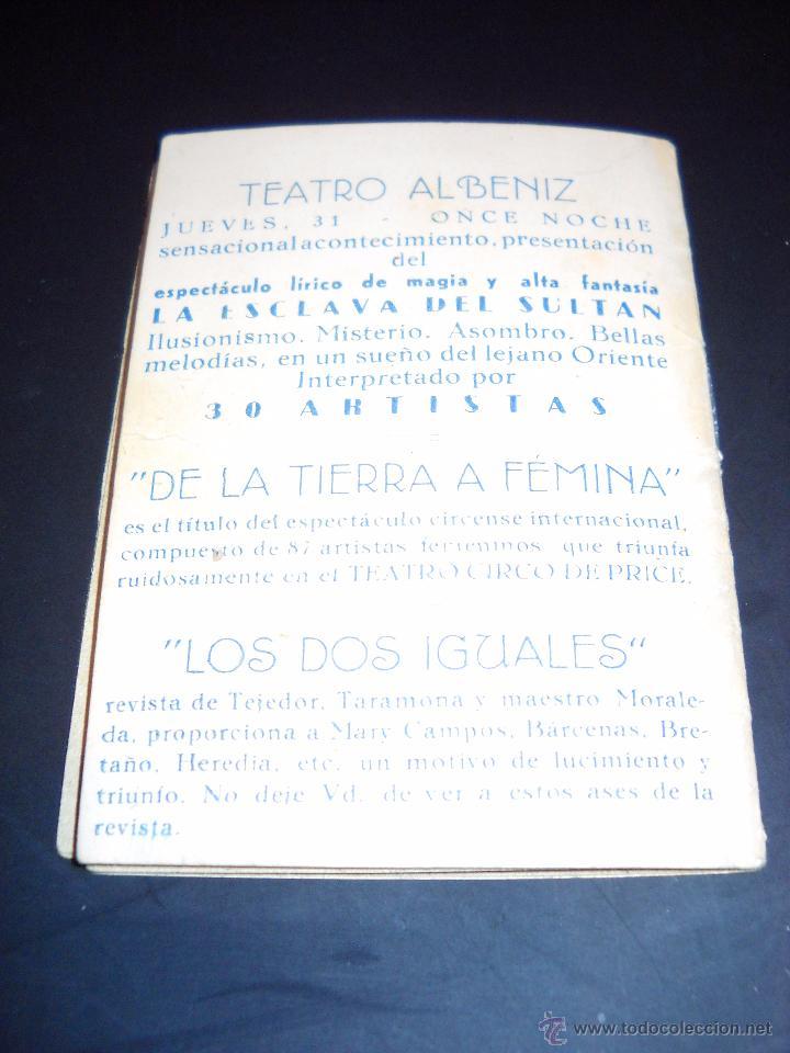 Cine: ANTIGUA Publicidad de obras de teatro,COMPAÑIA MORA-PEVALENDRO - Foto 13 - 53602572