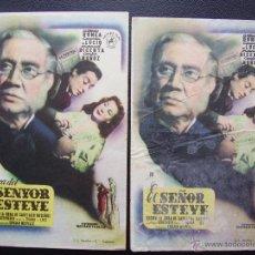 Cine: EL SEÑOR ESTEVE, ALBERTO ROMEA, VARIANTE. Lote 53647713