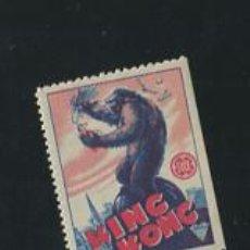 Cine: KING KONG PROGRAMA TROQUELADO EN SELLO PEQUEÑO RKO FAY WRAY. Lote 53660469